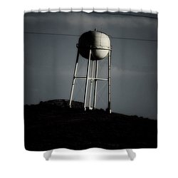Shower Curtain featuring the photograph Lopsided Tower by Jessica Shelton