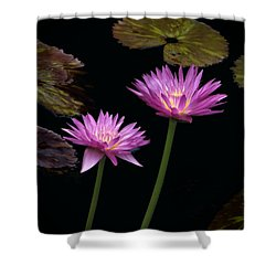 Lotus Water Lilies Shower Curtain