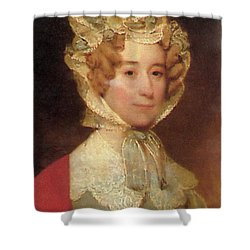 Louisa Adams Shower Curtain by Photo Researchers