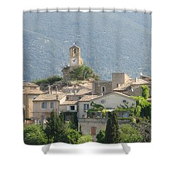 Shower Curtain featuring the photograph Lourmarin In Provence by Carla Parris