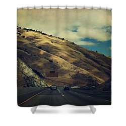 Love Is All Smoke And Mirrors Shower Curtain by Laurie Search