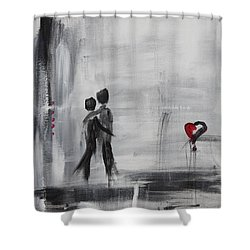 Love Story 1 Shower Curtain