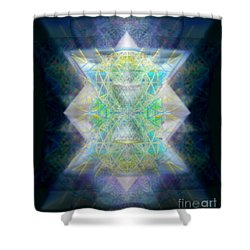 Love's Chalice From The Druid Tree Of Life Shower Curtain