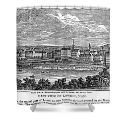 Lowell: Factories, 1844 Shower Curtain by Granger