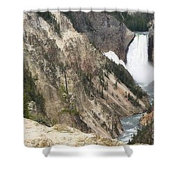 Lower Falls Another View Shower Curtain by Living Color Photography Lorraine Lynch