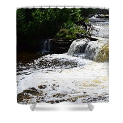 Lower Tahquamenon Falls Lll Shower Curtain