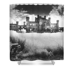 Lowther Castle Shower Curtain by Simon Marsden