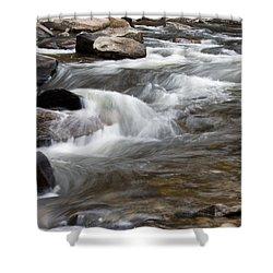 Loyalsock Creek Gentle Rapids Shower Curtain