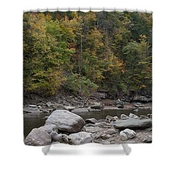Loyalsock Creek Worlds End State Park Shower Curtain