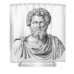 Lucius Septimius Severus Shower Curtain by Granger