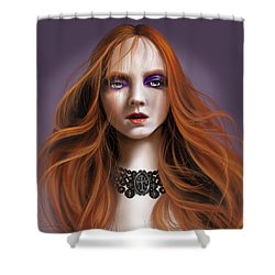 Lucy Westenra Shower Curtain