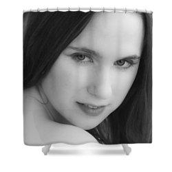 Lure Shower Curtain by Daniel Csoka