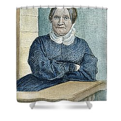 Lydia Maria Child (1802-1880) Shower Curtain by Granger