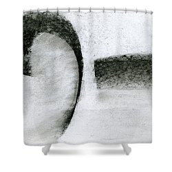 Lyrical Tabs Shower Curtain by Taylor Webb