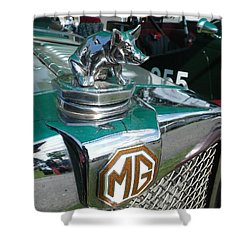 M G Hood 2 Shower Curtain