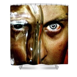 Shower Curtain featuring the photograph Mad Man by Pedro Cardona
