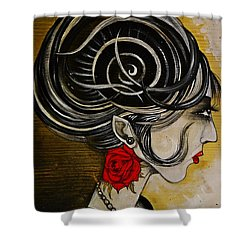 Madame D. Eternal's Dance Shower Curtain