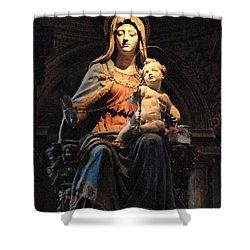 Madonna And Jesus Shower Curtain by Bob Christopher