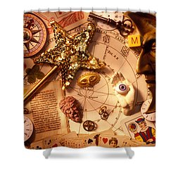 Magic And Mysticism  Shower Curtain by Garry Gay