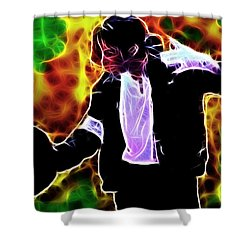 Magical Michael Shower Curtain by Paul Van Scott