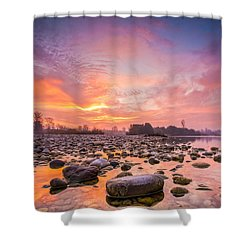 Magical Morning Shower Curtain by Davorin Mance