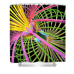 Magnetism 4 Shower Curtain