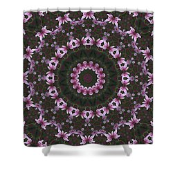 Shower Curtain featuring the photograph Magnolia  Diva Abstract by Clare Bambers