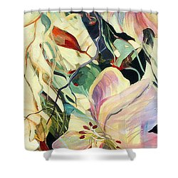 Maidens In The Morning Shower Curtain by Rae Andrews
