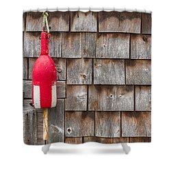 Maine Lobster Shack Shower Curtain by Steve Gadomski