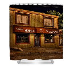 Mainstay At Night Shower Curtain
