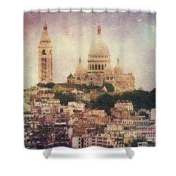 Majestic Haze Shower Curtain by Andrew Paranavitana
