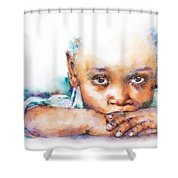 Make A Wish Shower Curtain by Stephie Butler