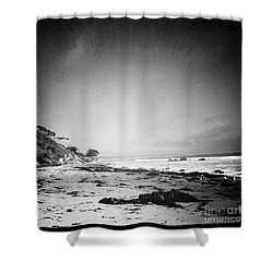 Shower Curtain featuring the photograph Malibu Peace And Tranquility by Nina Prommer