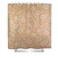 Mallow Wallpaper Design Shower Curtain by William Morris