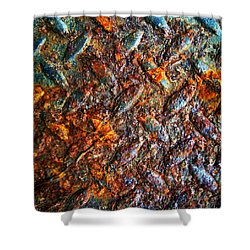 Man Made Trees Shower Curtain by Jerry Cordeiro