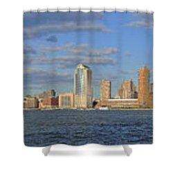 Manhattan - Hudson View Shower Curtain