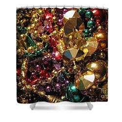 Mardi Gras Shower Curtain by Jan Prewett