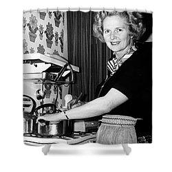 Margaret Thatcher (1925- ) Shower Curtain by Granger