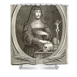Marie-felicite Montmorency Shower Curtain by Granger