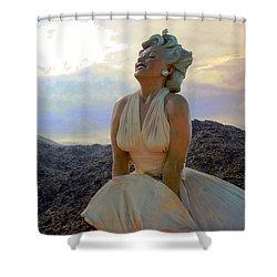 Marilyn's Euphoria Shower Curtain