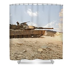 Marines Bombard Through A Live Fire Shower Curtain by Stocktrek Images