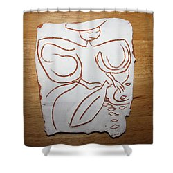 Market Seller 1 Shower Curtain by Gloria Ssali