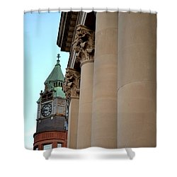 Marquette Architecture Shower Curtain