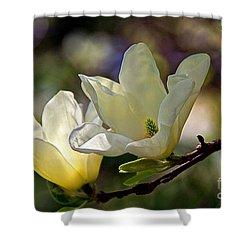 Marvelous Magnolia Shower Curtain by Byron Varvarigos
