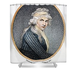 Mary W. Godwin (1759-1797) Shower Curtain by Granger