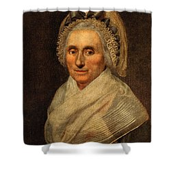 Mary Washington - First Lady  Shower Curtain by International  Images