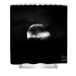 Masked Moon Shower Curtain by Al Powell Photography USA