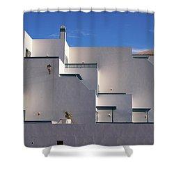 Matagorda Balconies Shower Curtain