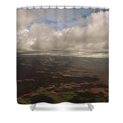 Maui Beneath The Clouds Shower Curtain by Paulette B Wright