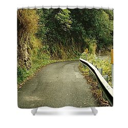Maui Highway Shower Curtain by Marilyn Wilson